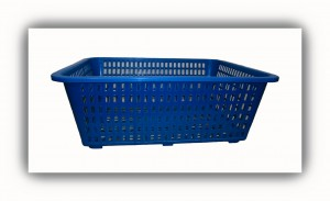 Rectangular Basket-Blue
