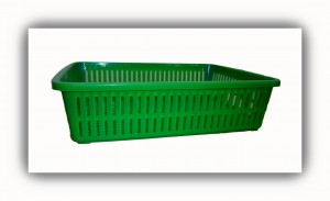 Rectangular Basket-Green
